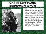 on the left flank berneval and puys3