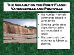 the assault on the right flank varengeville and pourville