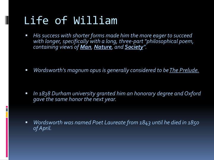 Life of william1