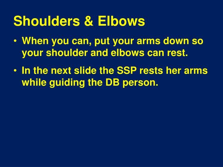 Shoulders & Elbows