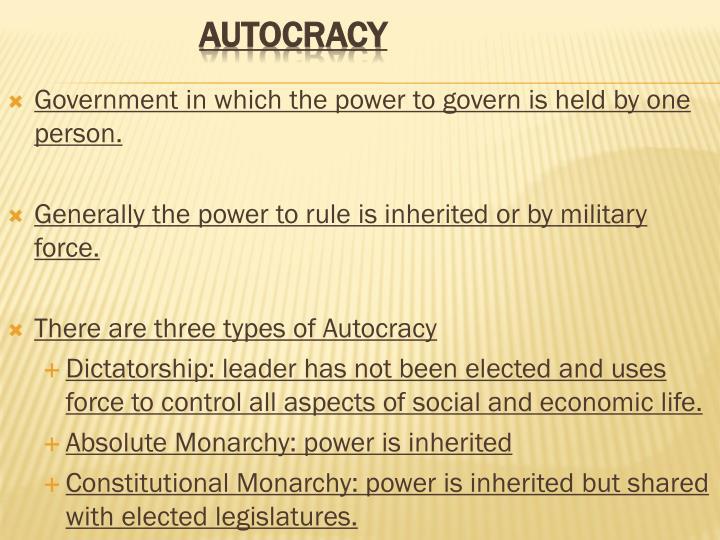 autocracy dictatorship examples - 720×540