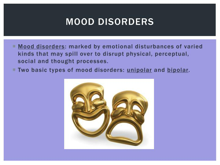 unipolar and bipolar disorders Major depression, also known as unipolar or major depressive disorder, is characterized by a persistent feeling of sadness or a lack of interest in outside stimuli the unipolar connotes a difference between major depression and bipolar depression , which refers to an oscillating state between depression and mania.