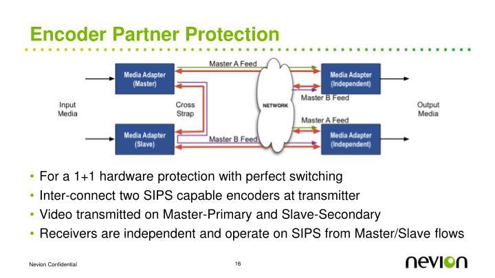 Encoder Partner Protection