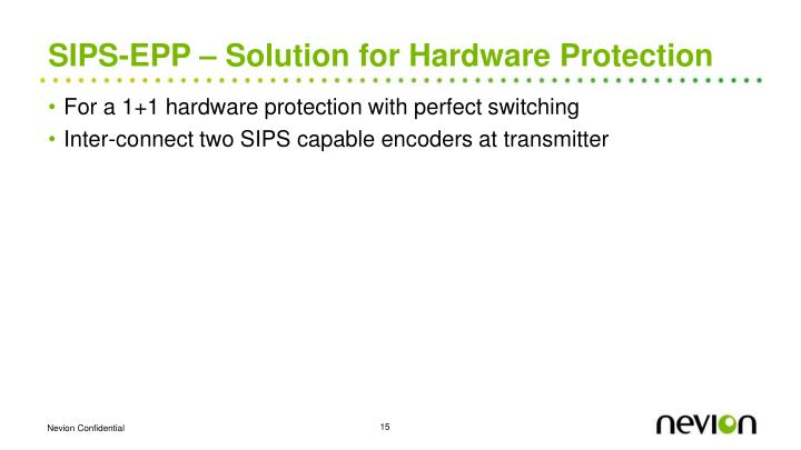 SIPS-EPP – Solution for Hardware Protection