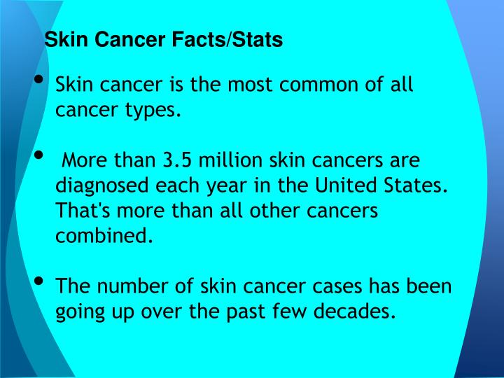 Skin cancer facts stats