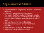 anglo japanese alliance