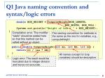 q1 java naming convention and syntax logic errors2