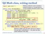 q2 math class writing method1