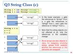 q3 string class c