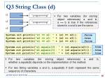 q3 string class d1