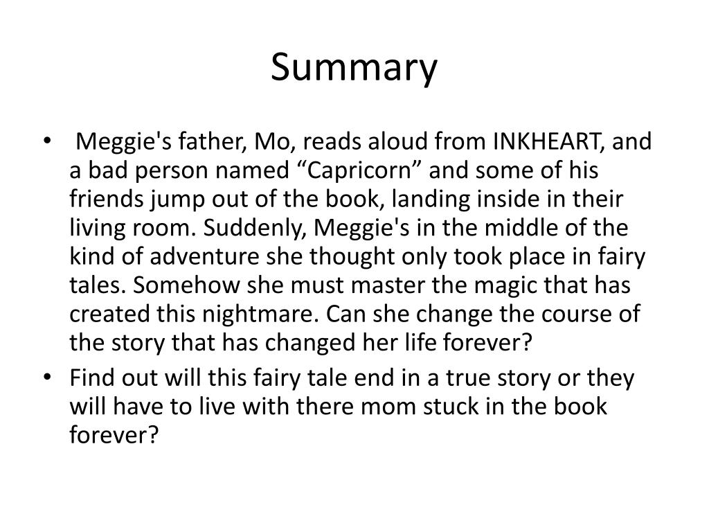Inkheart book resume resume ready to use