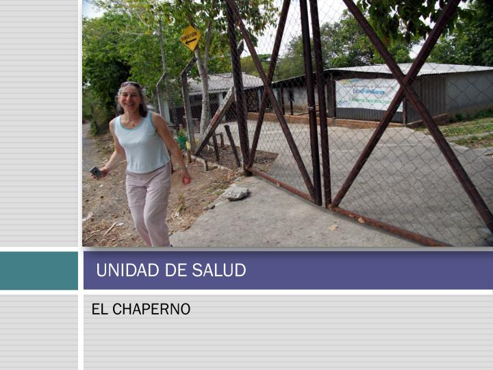UNIDAD DE SALUD