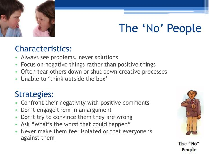 The 'No' People
