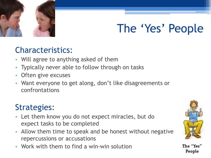 The 'Yes' People