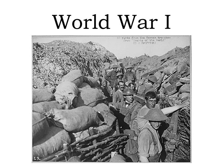 wwi course of the war presentations Business presentation 1 writing a business proposal 3 world war ii can be rightly called one of the most significant events in the history of humanity.