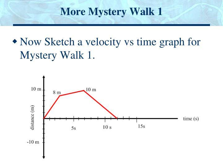 More Mystery Walk 1