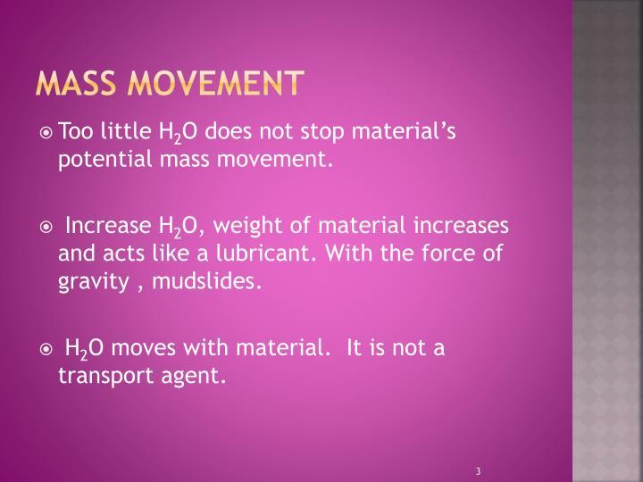 Mass movement1
