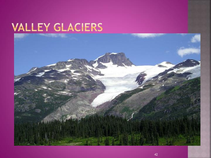 Valley Glaciers