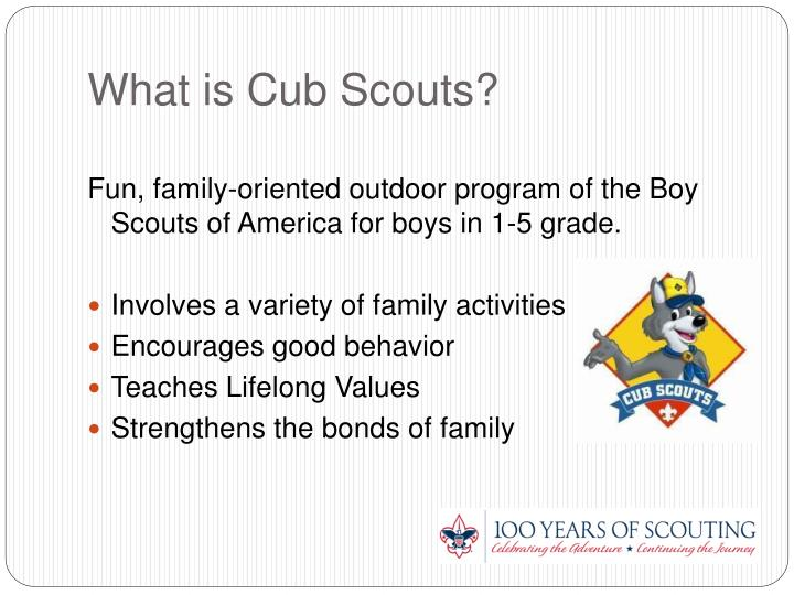 Ppt welcome to cub scouts powerpoint presentation id for Cub scout powerpoint template