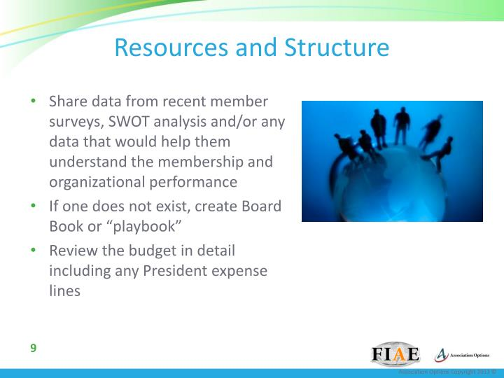 Resources and Structure