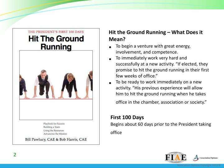 Hit the Ground Running – What Does it Mean?