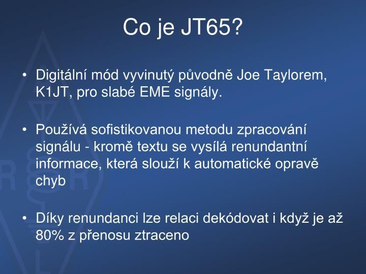 Co je jt65
