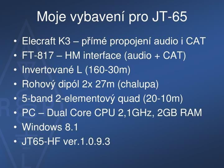 Moje vybavení pro JT-65