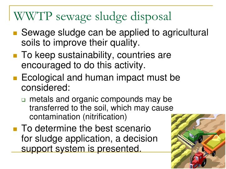 the use of sewage sludge as a fertilizer environmental sciences essay Biosolids are treated sewage sludge, which is the byproduct of municipal wastewater treatment biosolids can be recycled and applied as a fertilizer, disposed of in surface disposal units, or incinerated.