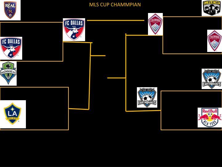 MLS CUP CHAMMPIAN