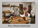 free african americans