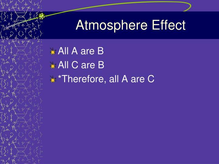 Atmosphere Effect
