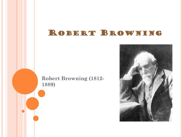robert browning the laboratory
