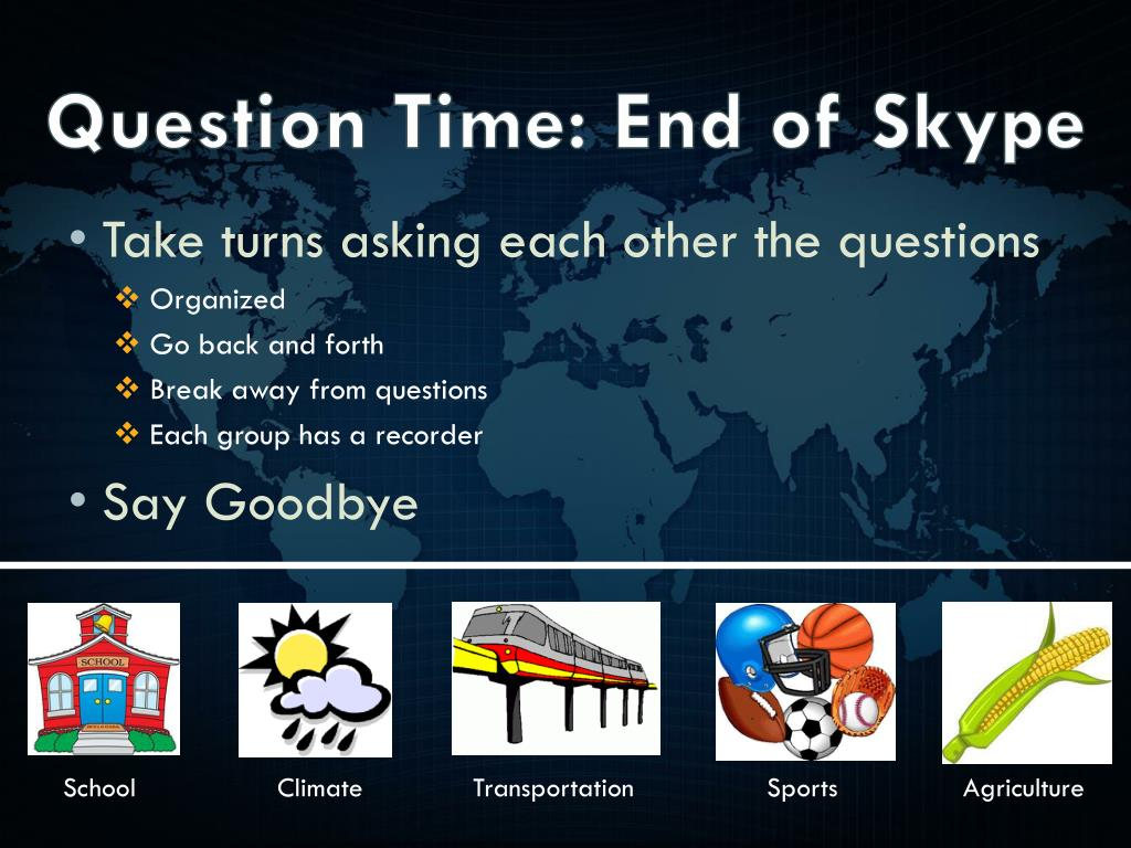 PPT - Connecting Beyond the School Walls: Mystery Skype