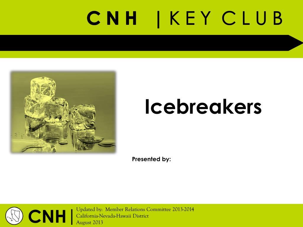 PPT - Icebreakers PowerPoint Presentation - ID:1964282