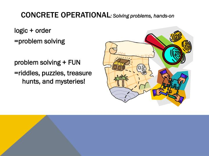 what is concrete operational
