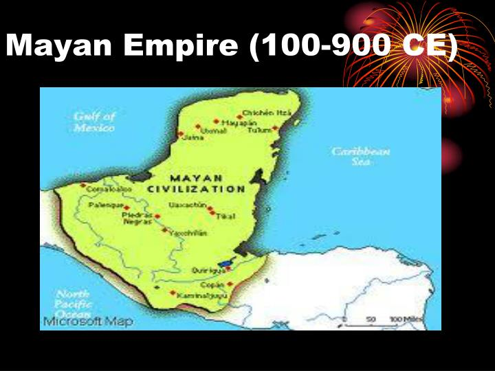 Mayan Empire (100-900 CE)