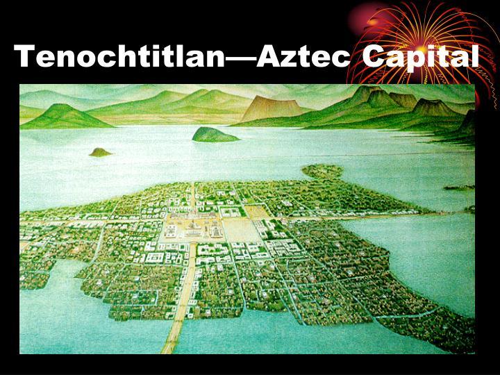 Tenochtitlan—Aztec Capital