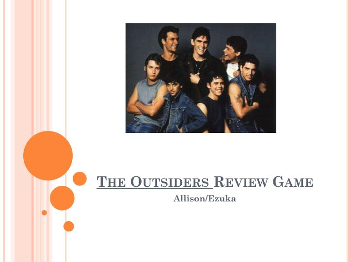 the outsiders review game n.