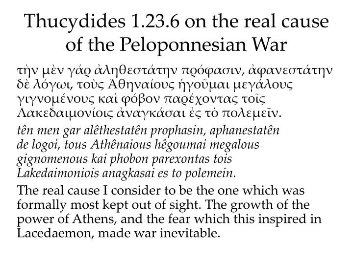 thycydides and the peloponnesian war essay Semester i, 1986-87 exams: wil be both objective and essay style thucydides, the peloponnesian war (modern library).