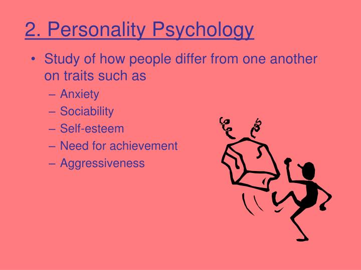 2. Personality Psychology