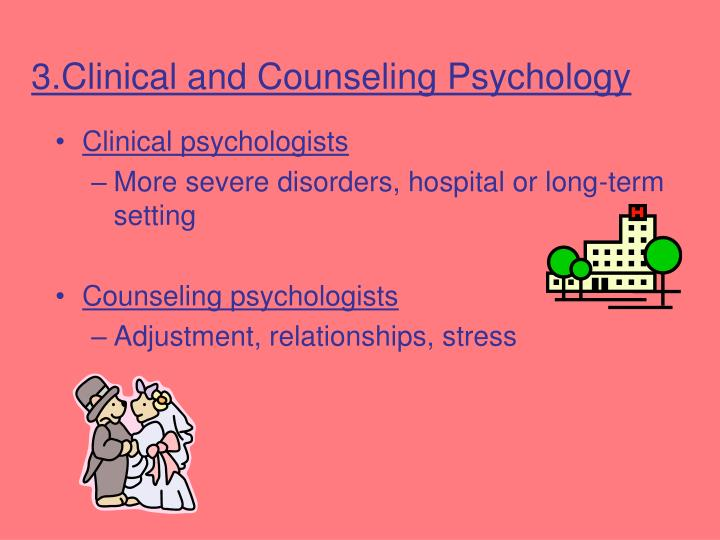 3.Clinical and Counseling Psychology