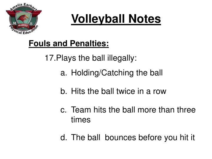 Fouls and Penalties: