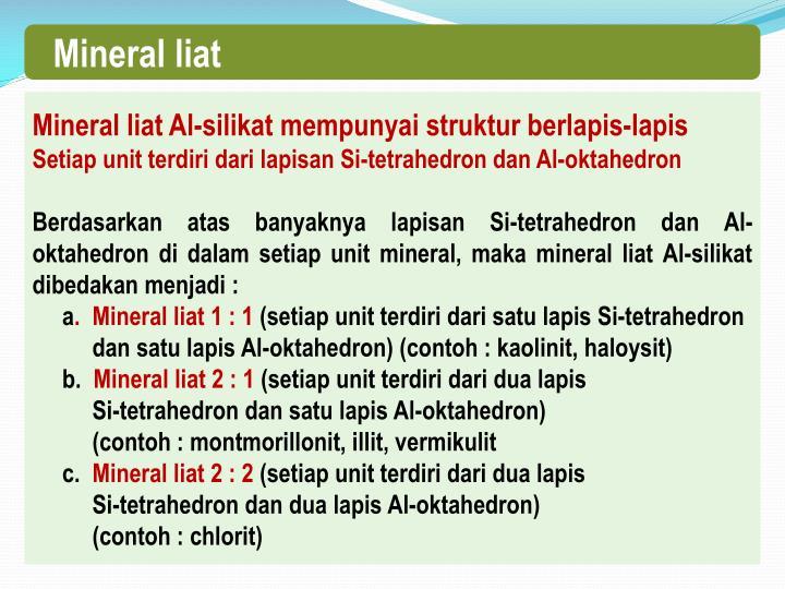 Mineral liat