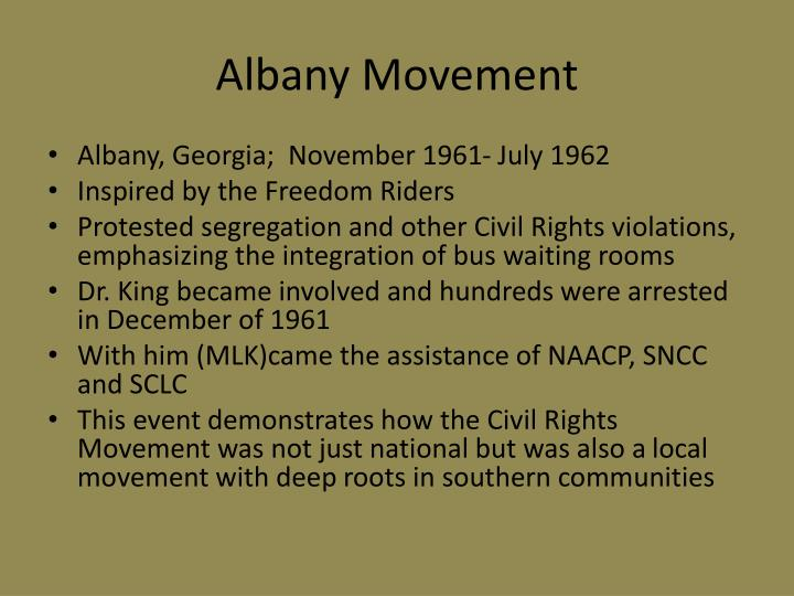 Albany Movement
