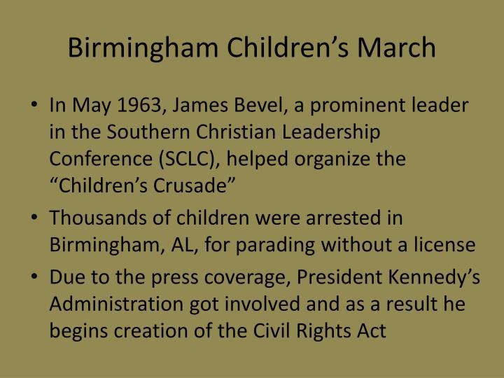 Birmingham Children's March