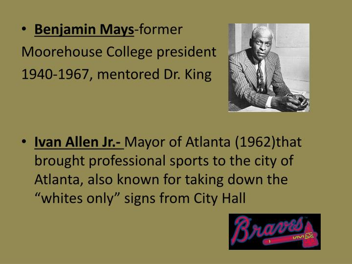 Benjamin Mays