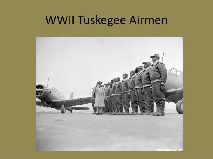 Wwii tuskegee airmen