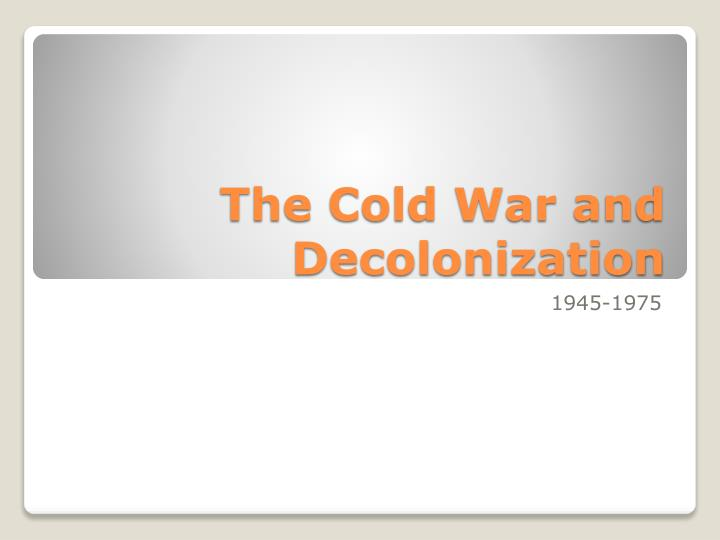 dbq decolonization and revolution