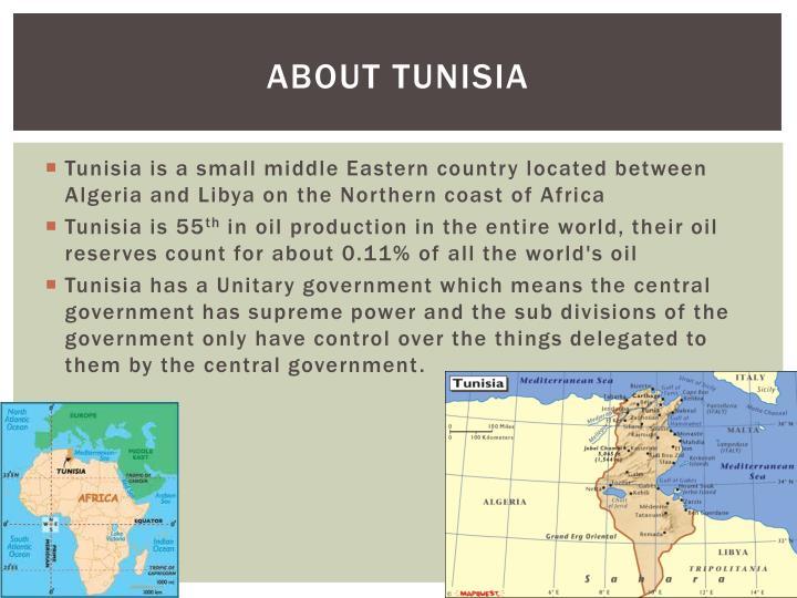 About tunisia