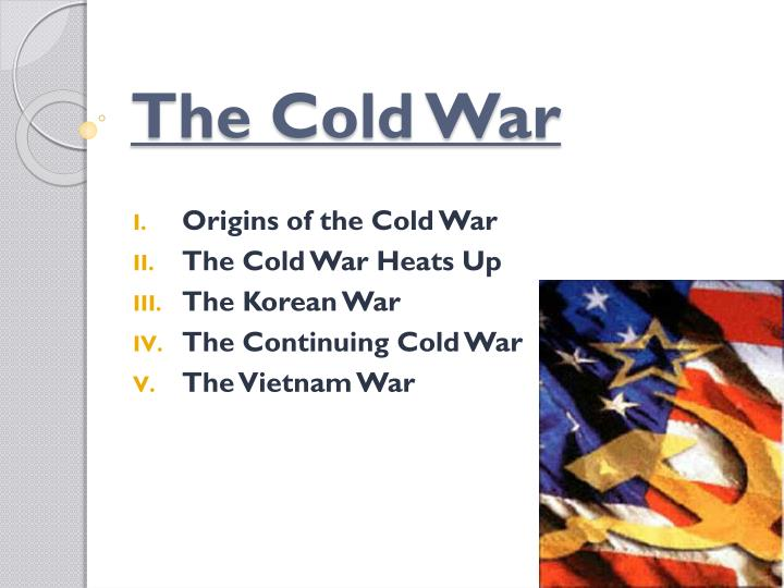 an analysis of the cold war origins The origins of the cold war involved the breakdown of relations between the soviet union versus the united states.